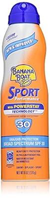 Banana Boat Ultra Mist Sport Performance Broad Spectrum Sun Care Sunscreen Spray – Twin Pack – SPF…