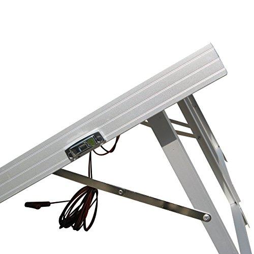 Eco worthy pannello solare fotovoltaico 120w 12v poly - Pannello fotovoltaico portatile ...