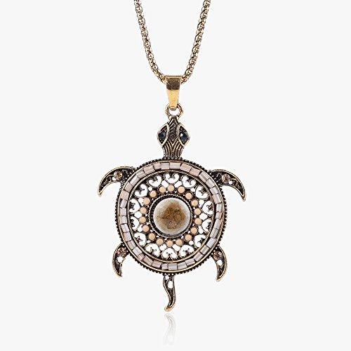 Vikky Neuheit Damen-Halskette in Boehmischen Stil, mit bunten Steinen und Strasssteinen.verfuegbar in mehreren Farben.CG1868