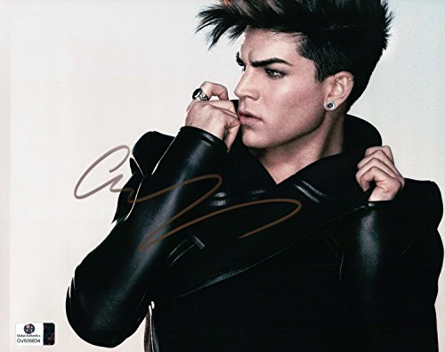 Adam Lambert Signed Autographed 8X10 Photo American Idol Queen Sexy GV809834