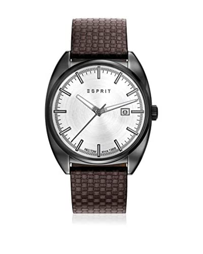 Esprit Reloj con movimiento japonés Man Marrón 41 mm