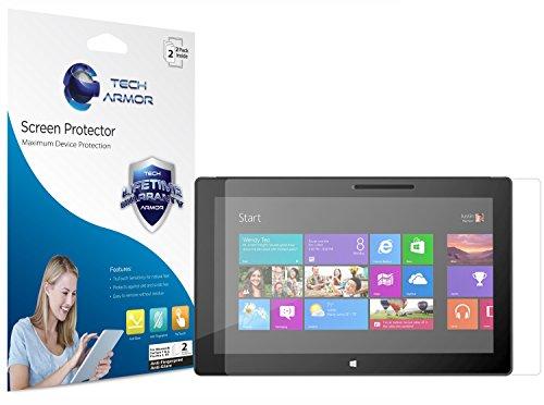 Surface 2 / Pro 2 Screen Protector, Tech Armor Anti-Glare/Anti-Fingerprint Microsoft Surface 2 / Pro 2 Screen Protectors [2-Pack] (Windows Surface 2 Pro compare prices)