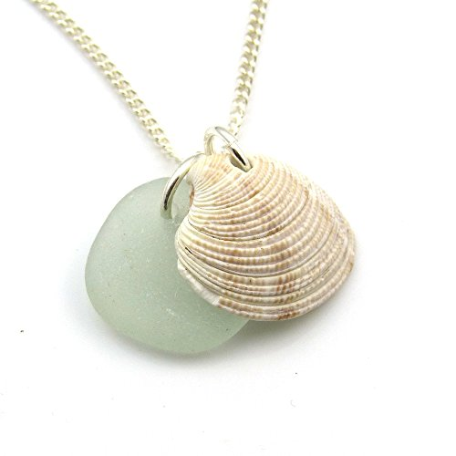 sea-glass-and-seashell-necklace-s124