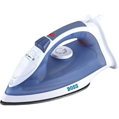 Boss Express B311 1250-Watt Steam Iron (Blue)