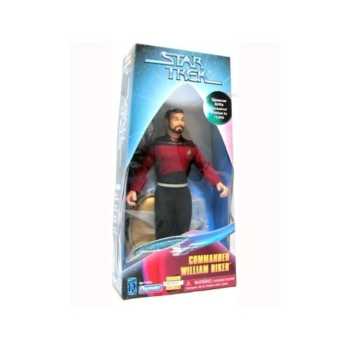 Star Trek Spence Gifts Exclusive Limited to 15,000 figures Commander William Riker 9 inch Action Figure