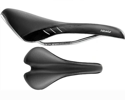 Fizik Vesta Wing Flex Bicycle Saddle (Women's, Black)