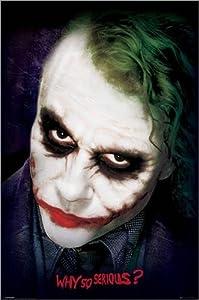 Póster The Dark Knight - Joker Face - cartel económico, póster XXL   Comentarios de clientes y más información