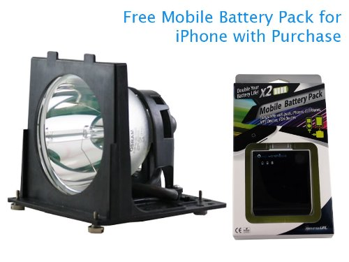 Mitsubishi WD62825G 120 Watt TV Lamp with Free Mobile Battery Pack Coupon 2016