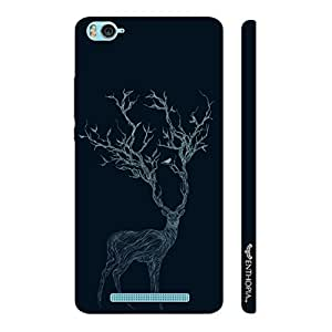 Xiaomi Mi 4c Deer Branching Out designer mobile hard shell case by Enthopia