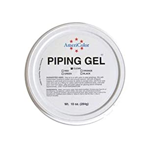 Amazon.com: AmeriColor Black Cake Decorating Piping Gel 10 ...