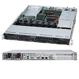 Supermicro 500 Watt 1U Rackmount Server Chassis (CSE-815TQ-R500UB)