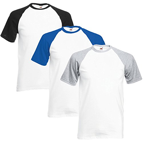 fruit-of-the-loom-mens-valueweight-multi-pack-of-3-baseball-t-shirts-x-large-white-black-white-royal