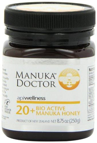 调理肠胃提高免疫力,世界上最珍贵蜂蜜之一Manuka Doctor马奴卡独麦素20+蜂蜜250克,仅$16.90