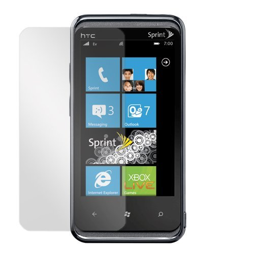 Gtmax Clear Lcd Screen Protector Film Guard For Sprint Htc Arrive Windows Phone