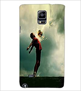PrintDhaba Sport D-1979 Back Case Cover for SAMSUNG GALAXY NOTE 2 (Multi-Coloured)