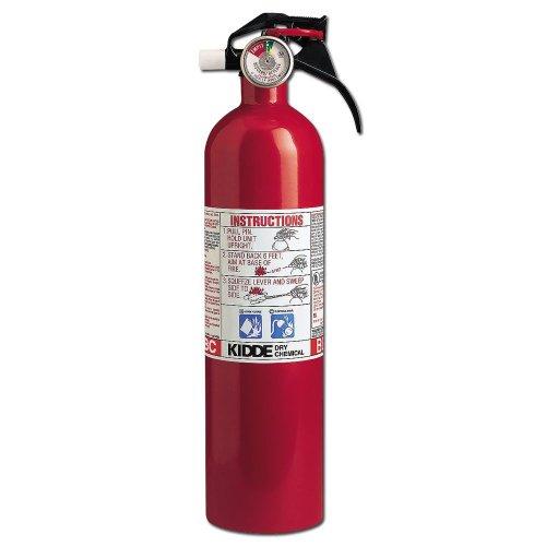 Kidde - Kitchen/Garage Fire Extinguishers 3 Lb. 10Bc Kitchen/Garage Fire Extinguisher: 408-466141 - 3 lb. 10bc kitchen/garage fire extinguisher