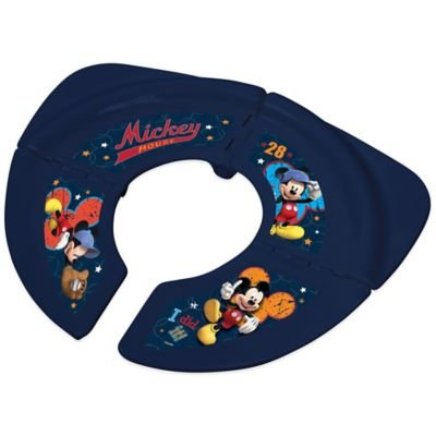 Disney ' Mickey Folding Travel Potty Seat With Storage Bag
