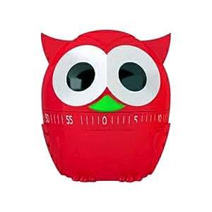 Eieruhr / Küchentimer OWLET red