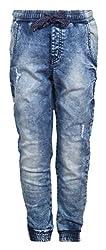 Vitamins Boys' Jeans (22B-745-42-Dx Cloud Wash_Blue_15 - 16 Years)
