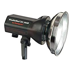 Photogenic StudioMax III AC/DC Operated 160ws Constant Color Monolight, with Reflector & Flashtube. (AKC160B)