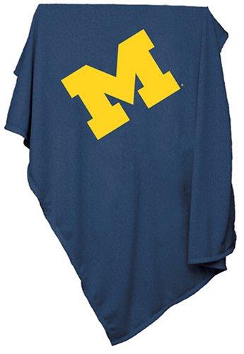Ncaa Michigan Wolverines Sweatshirt Blanket front-139726