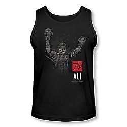 Muhammad Ali 70 Arms Raised Tank Top