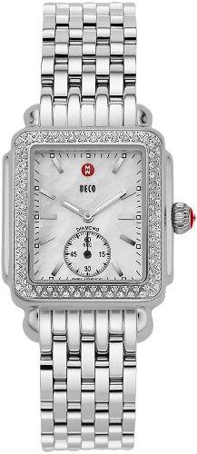 Michele Deco 16diamante damas reloj MWW06V000001reloj de pulsera (reloj de pulsera)