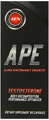 Athletic Edge Nutrition Ape Capsules, 80 Count