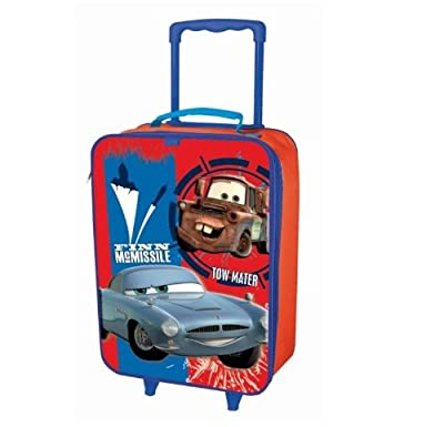 Disney Cars Childrens Trolley Suitcase Hand Luggage Finn Mcmissile Bag from DISNEY CARS
