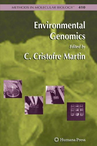 Environmental Genomics (Methods in Molecular Biology)
