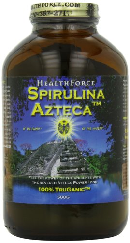 Healthforce Spirulina Azteca, Powder, 500-Grams