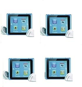 SODIAL(TM) 4G/Léger/Petit/baladeur MP4 MP3, lecteur vidéo, radio FM, visionneuse de photo numérique, lecteur e-book, magnétophone