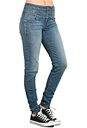 LOVEsick Medium Indigo High-Waisted Skinny Jeans