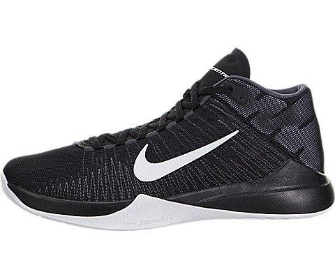 Nike Uomo Zoom Ascention scarpe da basket nero Size: 45