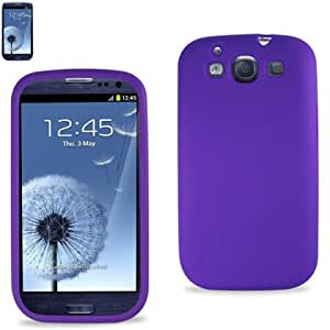 Reiko SLC10-SAMI9300PP Silicon Case for Samsung I9300 Galaxy S III - 1 Pack - Retail Packaging - Purple
