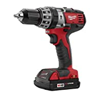 Bare-Tool Milwaukee 2602-20 M18 18-Volt Cordless 1/2-Inch Hammer Drill/Driver (Tool Only, No Battery) by Milwaukee