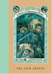 Cover of The Grim Grotto, A Series of Unfortunate Events, Book the Eleventh, LIMITED FIRST EDITION