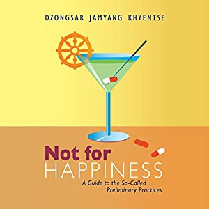 Not for Happiness Audiobook