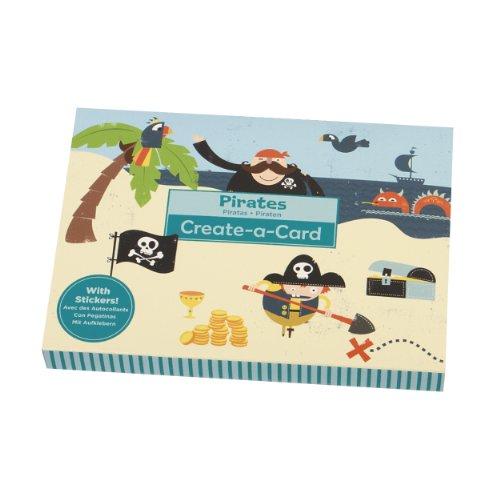 Mudpuppy Pirates Create-a-card