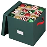 Holiday 64 Compartment Cube Ornament Organizer