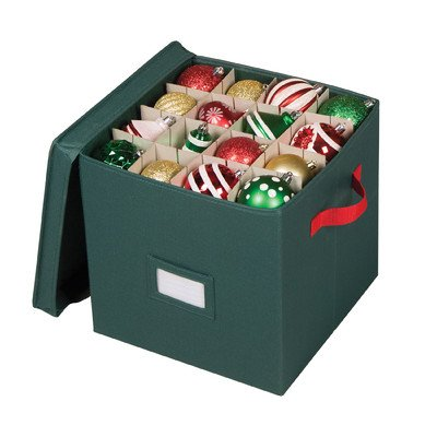 Richards Homewares - Holiday Green 64 Compartment Cube Ornam