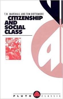 Citizenship and Social Class (Pluto Classics): Thomas Humphrey