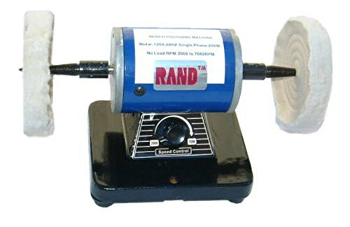 Why Should You Buy RAND BENCH POLISHER / BUFFER- Polishing/Buffing Machine 4-1/4 diameter jewelry