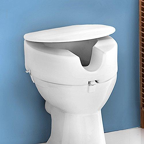 WC Sitzerhöhung mit Deckel und Absenkautomat