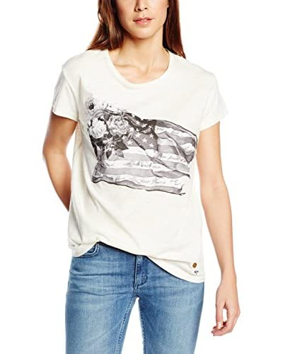 Pepe Jeans London T-Shirt Janey weiß