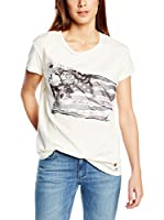 Pepe Jeans London Camiseta Manga Corta Janey (Blanco)