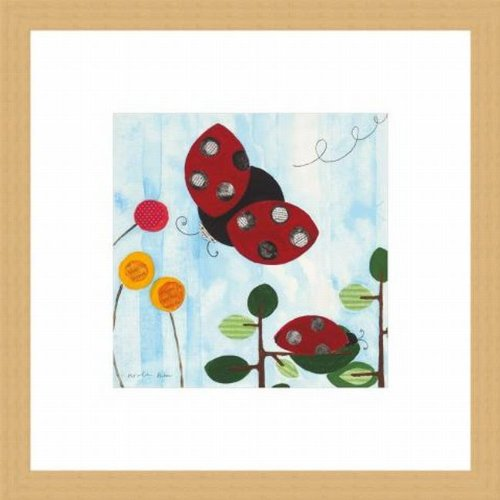 Barewalls Wall Decor by Nicole Bohn, The Little Ladybug
