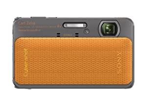 Sony Cyber-shot DSC-TX20 16.2 MP Exmor R CMOS Digital Camera with 4x Optical Zoom and 3.0-inch LCD (Orange) (2012 Model)