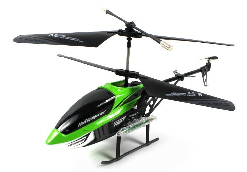 TC Missile Champ Electric RC Helicopter GYRO Gyroscope 3.5CH Channel Light Up LED Missiles Ready To Fly RTF