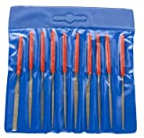 SE Diamond Needle Files, 4in 10 pc set